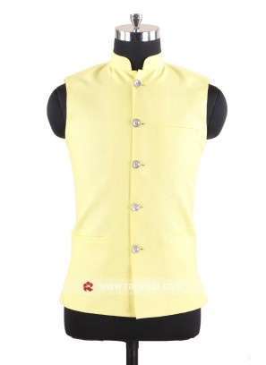 Yellow Color Mens Koti
