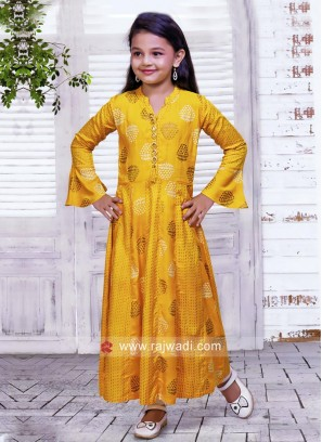 Yellow Color Top With Bottom