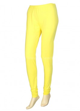 Yellow Colour Leggings