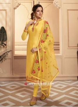 Yellow Designer Salwar Kameez