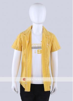 Yellow Lining Shirt