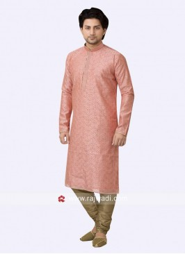 Charming Pink Color Kurta Pajama