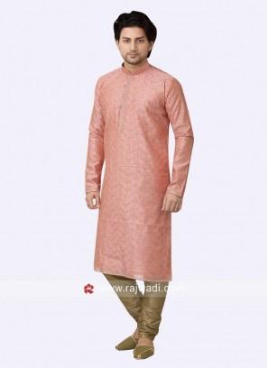 Charming Pink Color Kurta Pajama