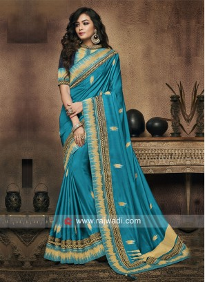 Zari Weaving Wedding Saree