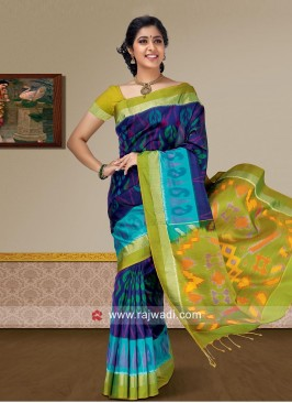 Zari Work Pure Silk Saree