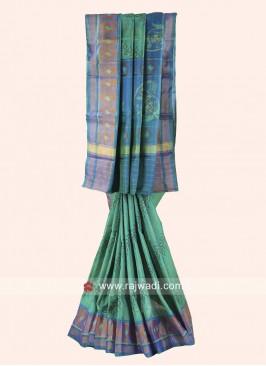 Zari Woven Pure Silk Patola Saree
