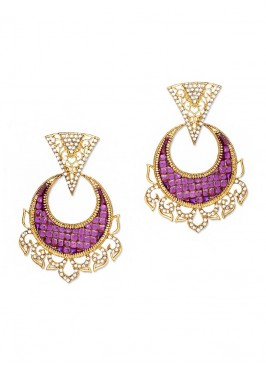 Zinc Alloy Dangler Earrings