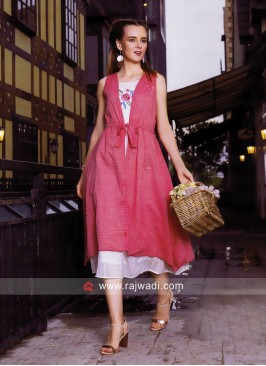Zola Cotton Layer Kurti with Koti