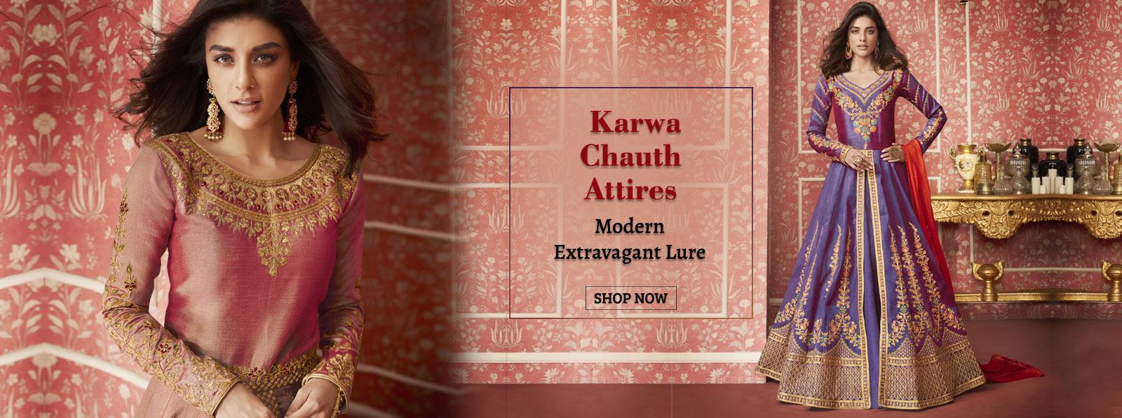dresses_for_karwachauth
