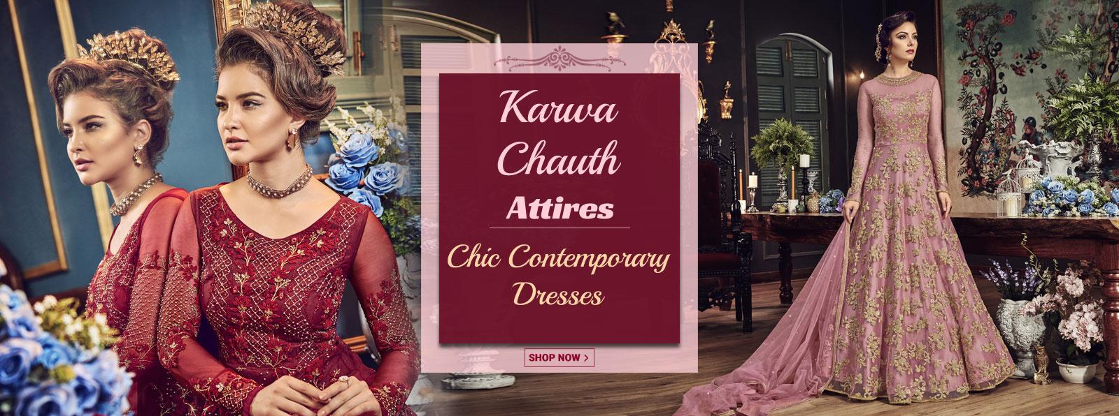 Karwachauth-dresses