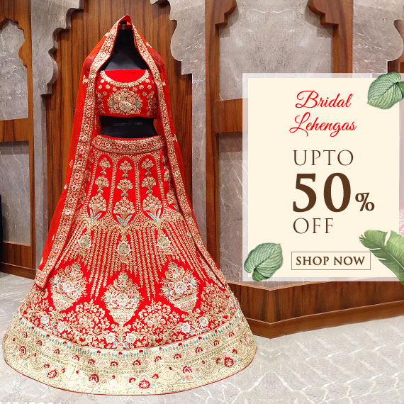 Bridal Lehenga on Sale